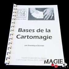 DUVIVIER - Bases de la Cartomagie - Livre de magie