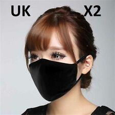 2PCS Unisex Helpful Health Cycling Anti-Dust Cotton Mouth Face Respirator Mask