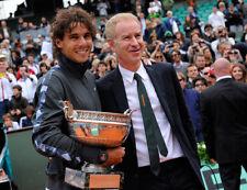 Rafael Nadal y John McEnroe sin firmar Foto-K6129-Nueva Imagen!!!