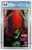 BATMAN THREE JOKERS #1 CGC 9.8 NM/MT Premium Variant D RED HOOD Jason Fabok 2020
