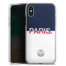 Apple iPhone Xs Silikon Hülle Case - PARIS Duo PSG
