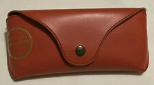 Genuine RAY BAN Red Sunglasses Case