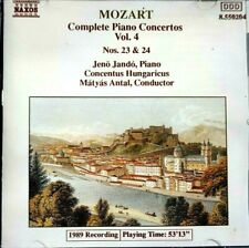 Mozart - Piano Concertos Nos. 23 & 24, Matyas Antal  -  CD, VG