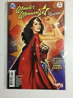 """DC Comics~""""Wonder Woman""""~'77 Special~Lynda Carter~Cat Staggs Cover~2016~NM"""