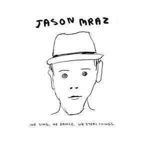 JASON MRAZ ( NEW SEALED CD ) WE SING WE DANCE WE STEAL THINGS ( ENHANCED )
