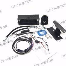 Reefer Oil Cooler Fan Cooling System For Harley Touring Models 1999-2008 Black