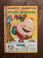 vintage HUMPTY DUMPTY ('s) Christmas FUN BOOK  parents magazine Sachs Quality