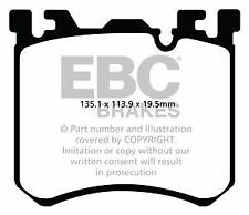 dp42091r EBC PASTIGLIE GIALLE PER FRENI ANTERIORI ADATTO BMW X5 M X6 M