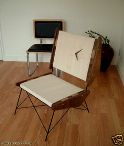 Mid Century ARCH LOUNGE CHAIR EAMES ERA CLASSIC NEW NOW