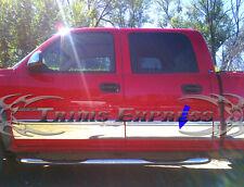 "2001-2006 Chevy Silverado Crew Cab 6.8' Short Bed Rocker Panel Trim 6"" W/F"