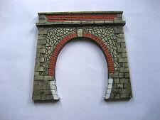 portale tunnel  per diorami e plastici ferroviari  art.p 05