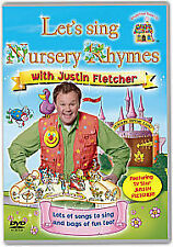 Sing Nursery Rhymes With Justin Fletcher DVD - Childrens Kids Songs Mr Tumbles!