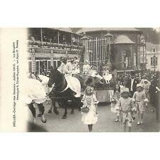 Ixelles - Cortège des saisons. Juillet 1910. La Bruyère.