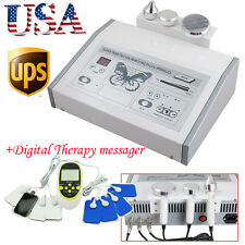 Ultrasonic Beauty Machine Ultrasound Facial Body Skin Massager 3MHz Spa Salon US