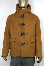 $4760 New GUCCI Mens Brown Wool Coat Blazer Fur Lining IT 54/US 44 352993 2762