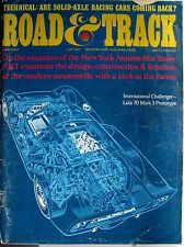 Road & Track Magzine May 1967 = Lola 70 Mark 3 Prototype