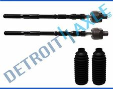 Pair (2) NEW Front Inner Tie Rod End for Subaru Impreza Forester Legacy Outback
