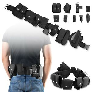 Rig Gear Nylon Police Officer Security Belt Guard Law Enforcement Equipment Duty