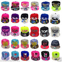 LADIES MENS BOYS GIRLS NY & LOS ANGELES KINGS SNAPBACK HIP HOP BASEBALL CAP HAT