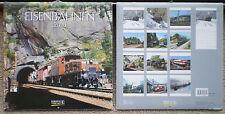 Eisenbahnen 2016 Wandkalender mit Ferienterminen - Eisenbahn - ovp - Korsch Verl