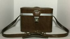 """Vintage Leatherette Camera Case, Hard Shell, 12 x 9 """" Excellent Condition"""