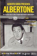 Dvd + Libro ALBERTO SORDI PRESENTA ALBERTONE+ LA GRANDE ANIMA D'ITALIA il meglio