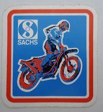 Aufkleber SACHS ENDURO Hercules 70er MX Motocross Sticker Fichtel