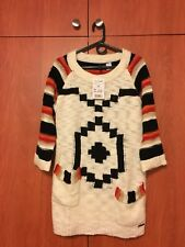 Desigual Women's Sz XL Long Sleeve Top Sweater  Tunic Multicolored