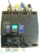 MITSUBISHI 400 AMP 50 KA quattro POLE mccb 415V nf400-se no-fuse disgiuntore BS 4752