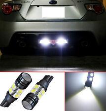 Projector LED Reverse Light Bulbs T15 912 921 906 for Honda Civic Coupe (2 pcs)