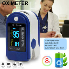 Fingertip Pulse Oximeter Blood Oxygen Saturation SPO2 Meter Finger PR Monitor