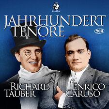 CD Jahrhundert Tenöre von Enrico Caruso und Richard Tauber   2CDs