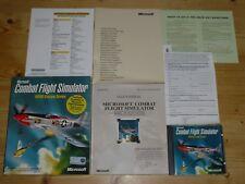 Microsoft Combat Flight Simulator-Wii Europe series-PC-Big Box
