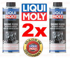 Set of 2 Engine Oil Additive Pro Line Flush 500ml  Liqui Moly LM 2037 NEW