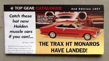 TRAX CATALOGUE 1997 Brochure DieCast 1/43 HT MONARO SLR 5000 TORANA COMMODORE VL