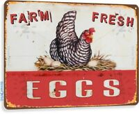 Eggs Farm Fresh Kitchen Cottage Farm Rustic Metal Décor
