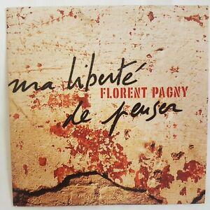 FLORENT PAGNY : VOUS N'AUREZ PAS MA LIBERTE DE PENSER ♦ CD PROMO  ♦ titre OBISPO