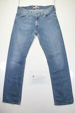 Levis 506 Standard (Cod. Y1656) tg47 W33 L34 jeans vita alta usato Vintage