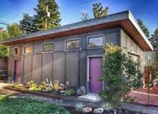 Modern Studio Garage Blueprints Plans Mancave Building Plan Contemporary Shed