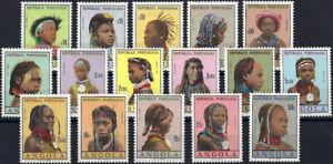 "1961 ""Angola"" Definitives, Women, complete set VF/MNH! CAT 28$ LOOK!"