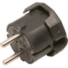 PVC Stecker 16A  weiß REV Schutzkontakt Winkelstecker