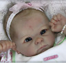 "Reborn Baby Doll Kits Soft Vinyl Head Limbs For Making 22"" Newborn Dolls Mold"