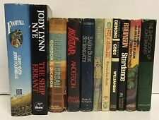 Lot of 11 Sci-Fi Hardcover Books THE SHEEP LOOK UP Science Fiction Vintage