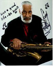 SONNY ROLLINS signed autographed photo