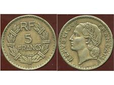 5 francs LAVRILLIER  1945 C