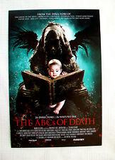 9 postcards THE ABCs OF DEATH Ti West Angela Bettis Alamo Drafthouse