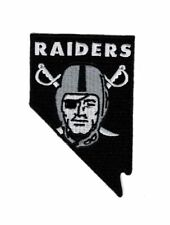 RAIDERS Las vegas NV Embroidered iron on sew on 4 inch Patch