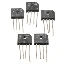 5 Pcs KBU1010 KBU-1010 10A 1000V Single Phases Diode Rectifier Bridge Single IC