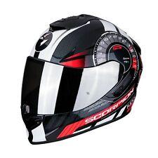 Casco Moto Scorpion Exo 1400 Air Torque 1RD Nero Bianco Rosso taglia L