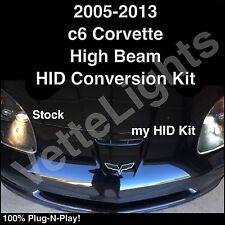 2005-2013 c6 Corvette 55w High Beam HID Conversion Kit (SUPER BRIGHT)Plug-N-Play